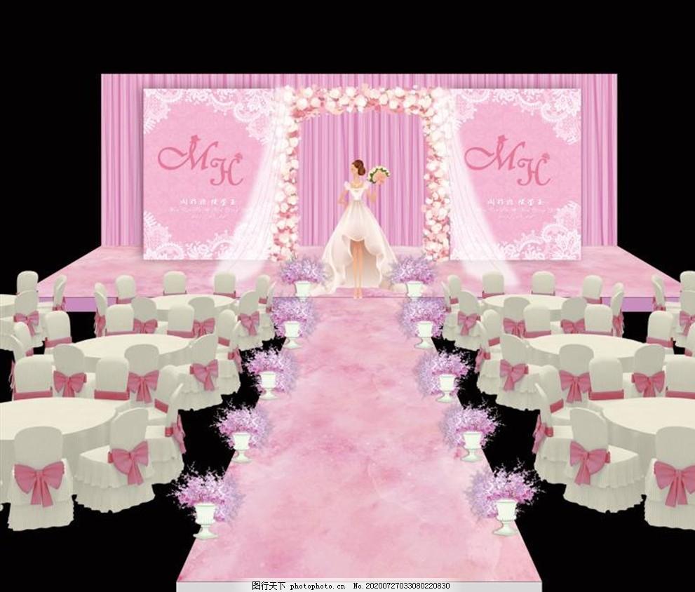 粉色舞台,粉色色婚礼,大理石纹婚礼,粉香槟婚礼,白色,大理石婚礼,欧式白色婚礼
