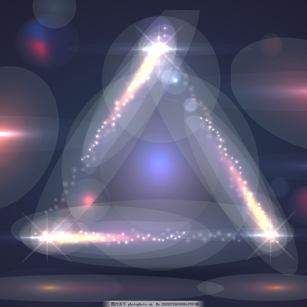 三角形炫酷光效背景,三角型,展板背景,设计,广告设计,海报设计,AI