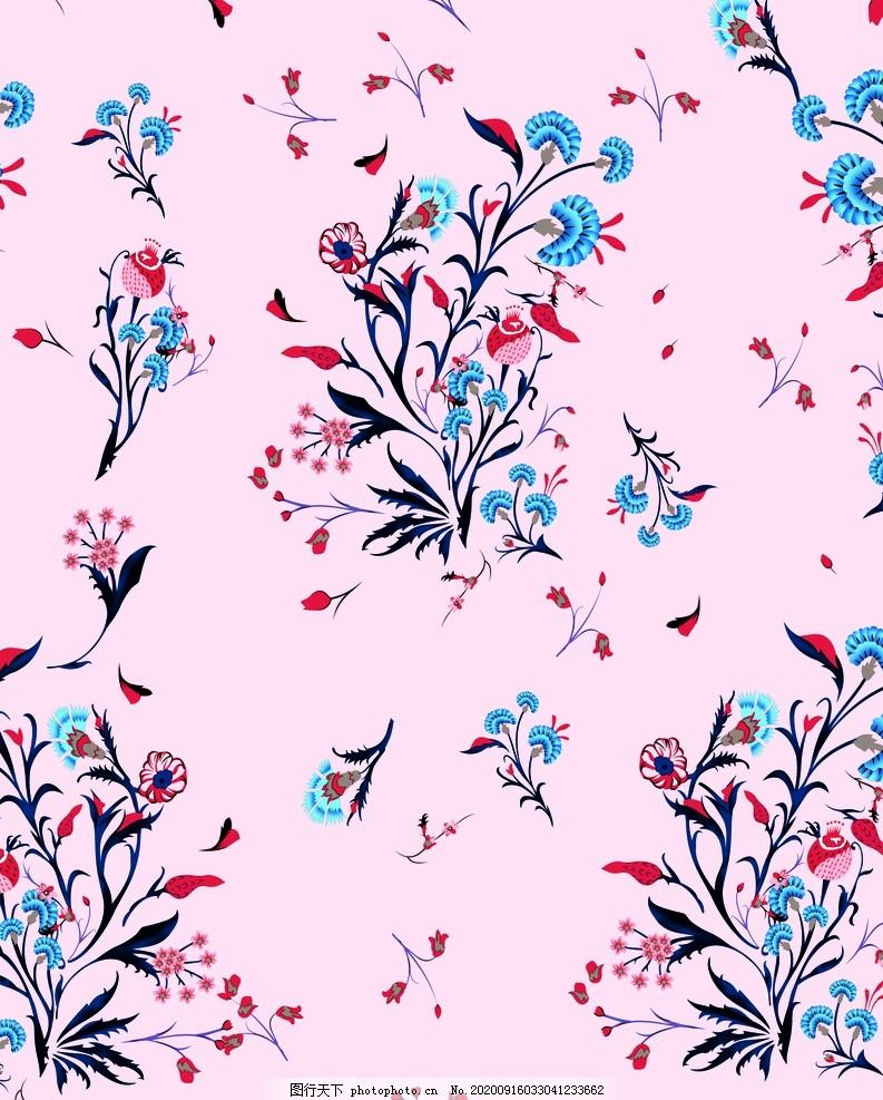 花朵,抽象印花,定位印花,数码印花,碎花,小花,小清新